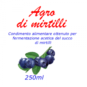 Agro di mirtillo