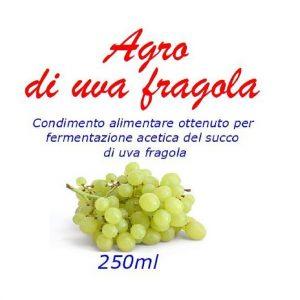 Agro uva fragola