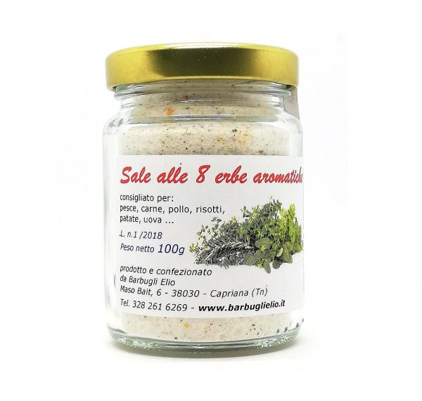 Sale 8 erbe aromatiche